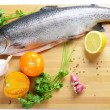 Fresh fish — Stock Photo #28450911