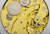 Pocketwatch mechanism — Stock Photo