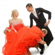 Latino dancers — Stock Photo #39750537