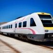 Fast modern train Split Croatia Zagreb — Stock Photo #12146571