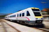 Tren rápido moderno split croacia zagreb — Foto de Stock