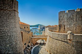 Dubrovnik old city Croatia fortress — Foto de Stock