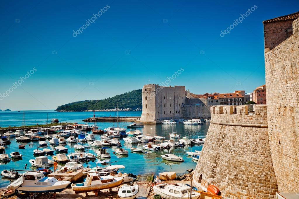 Croatia, Southern Dalmatia, Dubrovnik Old City — Stock Photo #12146599