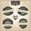 Premium and High Quality Labels vintage design — Stock Vector #12146057