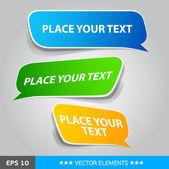 Vector sale labels — Stock Vector