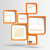 Abstract web design bubble — Vector de stock