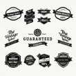 Premium and High Quality Labels vintage design — Stock Vector #13533225
