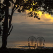 Cahuita at sundown - Stock Photo