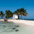 Caribian island - Stock Photo