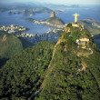 Aerial view from rio de janeiro - Stock Photo