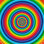 Art rainbow circle abstract vector background 10 — Stock Vector
