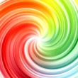 Abstract swirl rainbow colors background — стоковое фото #17358589