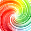 Foto de Stock  : Abstract swirl rainbow colors background