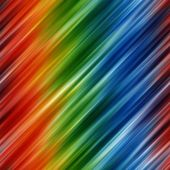 Abstract rainbow colors background with blurred diagonal lines — Stock Photo