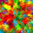 Abstract art rainbow waves colorful pattern background — Stock Photo