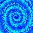 Abstract art swirl blue color background. Winter illustration - Stock Photo