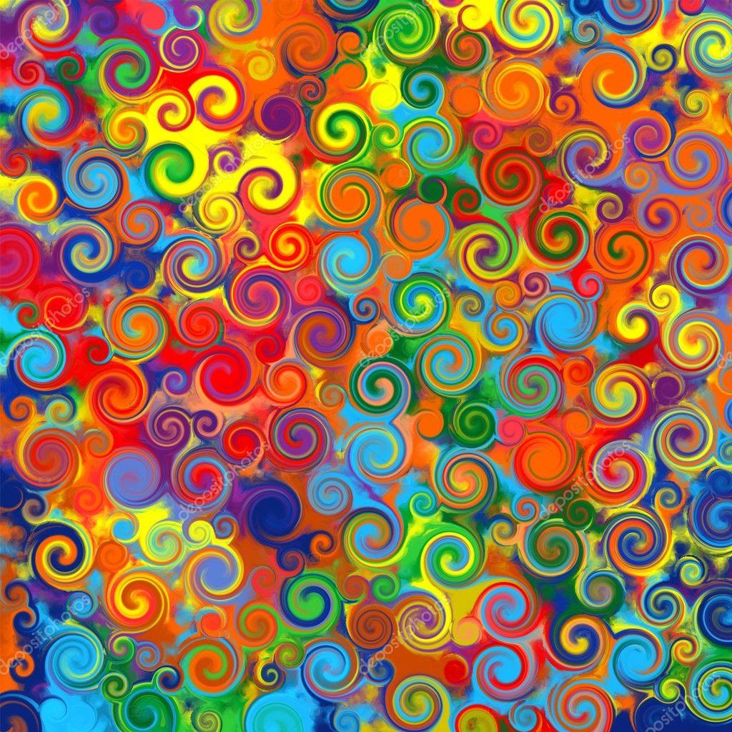 regenbogen muster bunte linien - photo #21