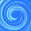 Stock Photo: Abstract glossy art swirl water blue background