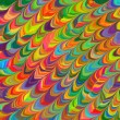 Abstract rainbow colorful pattern background illustration 6 — Stock Photo