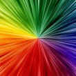 Art rainbow colors abstract zoom background — Stock Photo #27660613