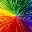 Foto de Stock  : Art rainbow colors abstract zoom background