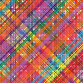 Arte curvas fundo colorido de listras — Vetor de Stock