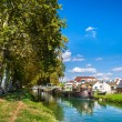 Rhone - Rhine Canal in Alsace, France — Stock Photo #12840331
