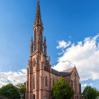 Stock Photo: Protestant church in Offenburg, Germany
