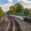Royalty-Free Stock Photo: High-speed train in Offenburg, Germany