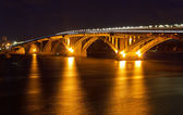 基辅地铁桥 — 图库照片