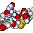 "Stock Photo: Oxytocin ""love hormone"" space filling molecular model"