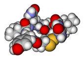 """Oxytocin """"love hormone"""" space filling molecular model — Stock Photo"""