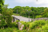 Bridge over the Smotrych River, Kamianets-Podilskyi, Ukraine — Stock Photo
