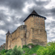Khotyn Fortress, Ukraine. HDR image - Stock Photo