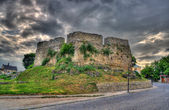 Armenian bastion in Kamianets-Podilskyi, Ukraine. Built XVI cent — Stock Photo