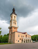 Kamianets-Podilskyi town hall. Ukraine — Stock Photo