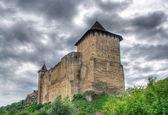 Khotyn Fortress, Ukraine. HDR image — Stock Photo