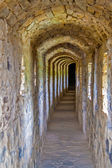 Passage inside the Kamianets-Podilskyi Castle — Stock Photo