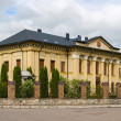 Soviet palace in Kolomyia, Ukraine. Now Ukrainian Greek Catholic — Stock Photo