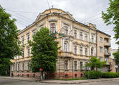Historic building in the Ivano-Frankivsk city center — Stock Photo