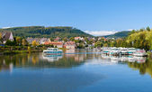 River port in Saverne, Alsase, France — Stock Photo