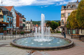 Fountain in Saverne, Alsase, France — Stock Photo