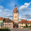 Gengenbach town in Baden-Wurttemberg, Germany — Stock Photo
