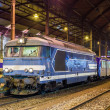 Local diesed train at Strasbourg station. Alsace, France — Stock Photo #14682649