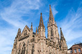 Temple Saint-Etienne of Mulhouse. Alsace, France — Stock Photo