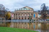 The Opera House of Stuttgart State Theatre. Germany — Stockfoto