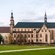 Stock Photo: Jesuit Church, Molsheim - Alsace, France