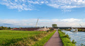 Construction of LGV Est europeenne near Strasbourg, France — Stockfoto