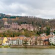 View of Heidelberg with the castle, Baden-Wurttemberg - Germany — Stock Photo
