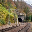 Railway tunnel in Heidelberg, Deutsche Bahn - Germany — Stock Photo